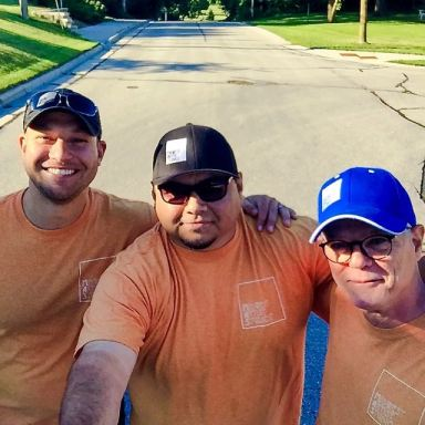 LtoR: Jonathan Fritsch, Frank Juarez, Pat Ryan