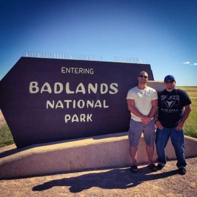Badlands National Park, SD
