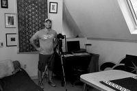 Inside Paula's studio in Shorewood, Wisconsin.