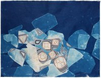 Becoming_cyanotype_gouache_colored pencil