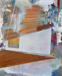 """Idea for Rebuilding"" Acrylic on Canvas 22"" x 30"" 2015"
