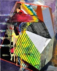 """Planing the Gem"" Acrylic on Canvas 16"" x 20"" 2015"