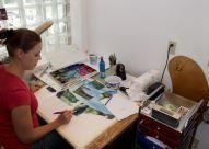 MAS artist, Sharon Grey (SD)