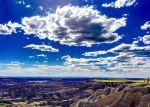 The Badlands in South Dakota